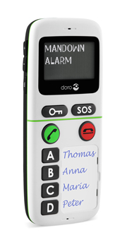 5123_KT Doro Mobil Telefon m/Telenor abonnement