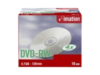 I21061 Imation CD/DVD/Blu-ray Media (DVD-RW)