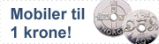 mobiler til 1 krone