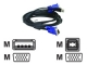 DLINK KVM USB cable-Kit DKVM-CU Kabel mm USB kabel