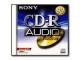 SONY 1x Premium CD-R audio 80min JC CRM80 CD/DVD/Blu-ray Media (CDR)