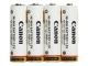 CANON NB4-300 4x battery NiMH 1171B002 Kamera / Video Tilb. Batteri