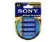 SONY Battery 1,5V LR6 4er Blister AM3PTB4A Kamera / Video Tilb. Batteri