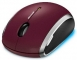 Microsoft Wireless Mobile Mouse 6000 red (ML) MHC-00014 Tastatur/Mus Mus - Trådløs