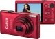 CANON Ixus 220HS red 12.1 MPix norsk 5100B009 Kamera / Video Digital Kamera