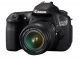 CANON EOS 60D 18 MPix with EF18-55 IS 4460B043 Kamera / Video Speilrefleks