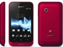 Sony  Xperia tipo, Deep Red)